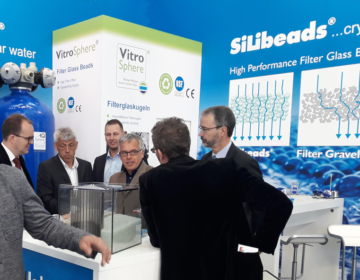 IFAT_2018-SiLibeads Glass Beads -filter material