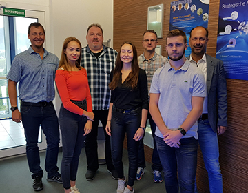 New apprentices at Sigmund Lindner GmbH
